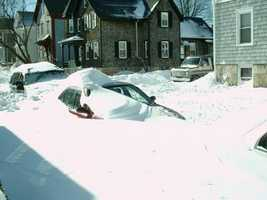 Blizzard 2005 Snow Covered Car