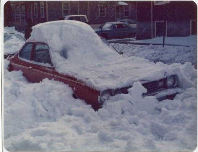 Snow Covered car 2