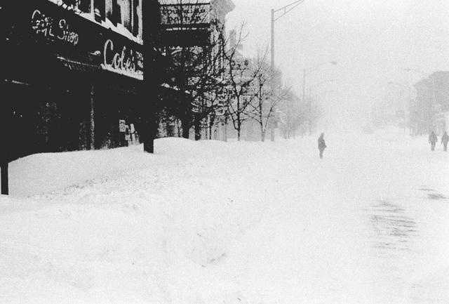 1978 Blizzard - downtown Andover, Mass.