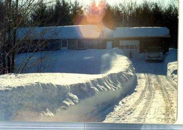 Blizzard of 78, Sutton, Mass.