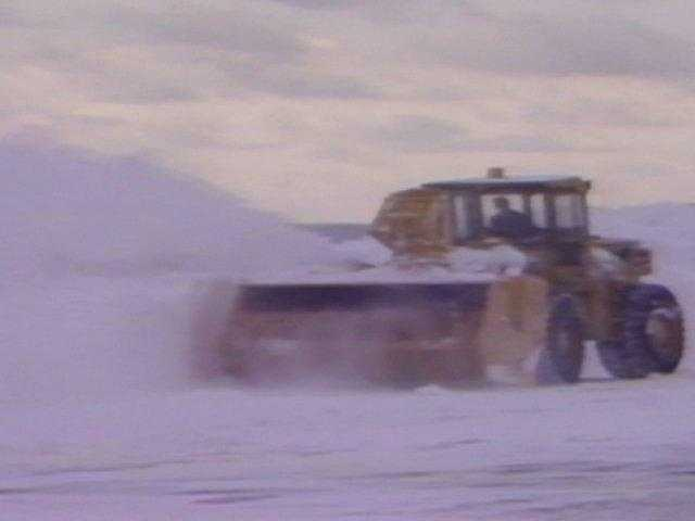The challenge was to open a runway at Logan Airport so that the Army could fly in additional front-end loaders.