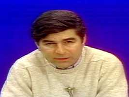 """Gov. Michael Dukakis declares a State of Emergency during the """"Blizzard of '78"""" in February, 1978."""
