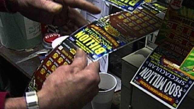 Lottery Scratch Ticket - 14926929