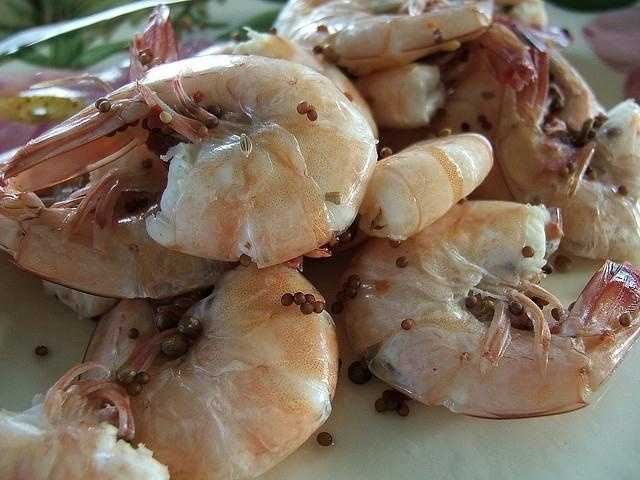 Your shrimp could be tainted with chemicals used to clean filthy shrimp farm pens.
