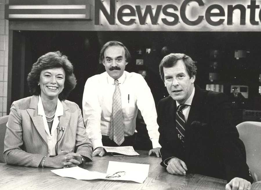 Natalie Jacobson, former WCVB News Director Phil Balboni & ABC Anchor Peter Jennings
