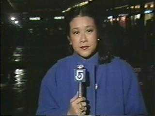 Reporter Janet Wu, 1983
