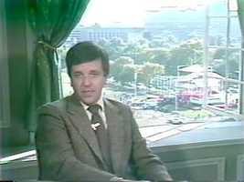 Reporter/Anchor Chet Curtis, 1979