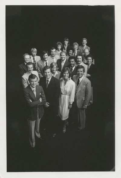 The WCVB family in the 1970s.