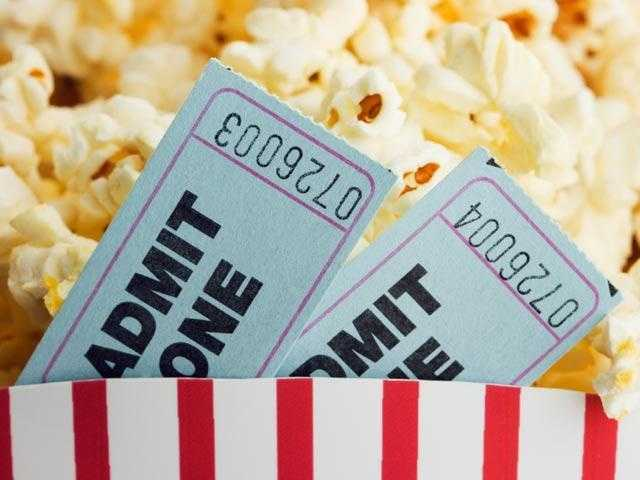 Consider cutting back on non-essentials -- like movie tickets.