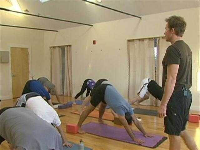 Classes are also held on Martha's Vineyard, where instructor, Rob Sidoti lives.