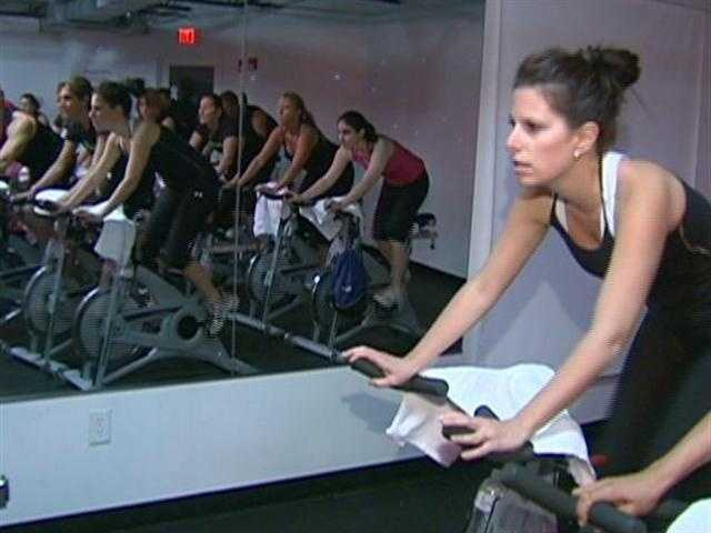 Newbie, Julie Soble Bowers, became Spinning addicted, quickly.