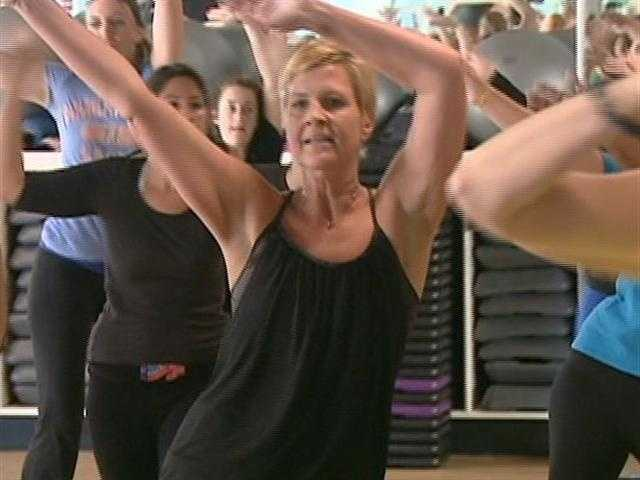 Zumba can burn, up to 800 calories an hour.