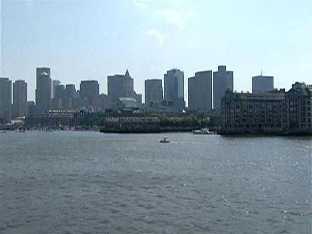 Imagine Boston's waterfront without its wharves....