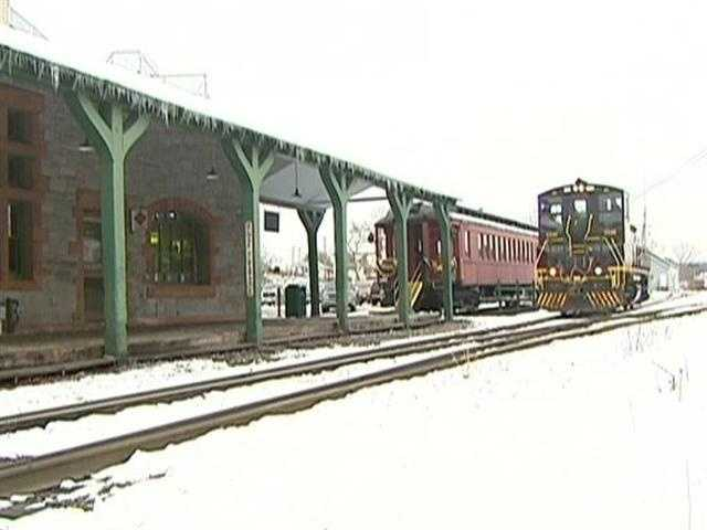 Last stop (no pun intended) is the town of Palmer, where an appetite for trains can be satisfied in more ways than one.