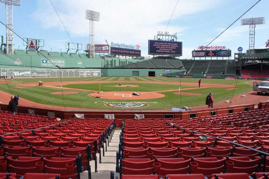 Take a look back at how Fenway became what we know today.