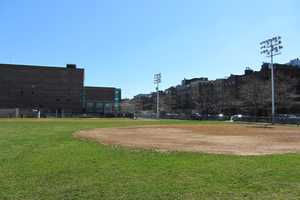 Langone Park features a Little League ballfield, a playground and bocce courts.