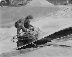 It took more than 87,000 man-hours to remove the molasses from the cobblestone streets, theaters, businesses, automobiles and homes.