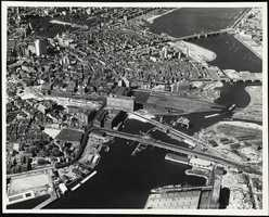 In this aerial picture taken 6 years later in 1925, you can see the disaster area in the lower-left corner.