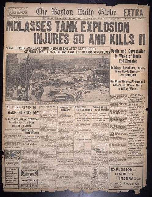 The Boston Daily Globe Jan, 16, 1919