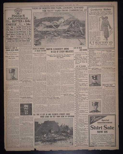 The Boston Daily Globe Jan. 16, 1919