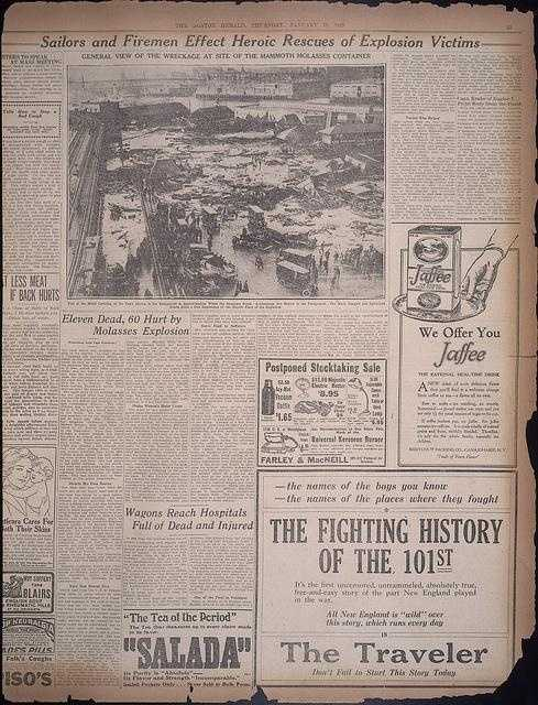 The Boston Herald Jan. 16, 1919