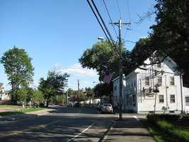 #14 Cochituate section of Wayland with an average income of $103,864.