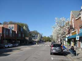 #25. Belmont with an average household income of $95,197