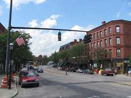 #24. Brookline with an average household income of $95,448.