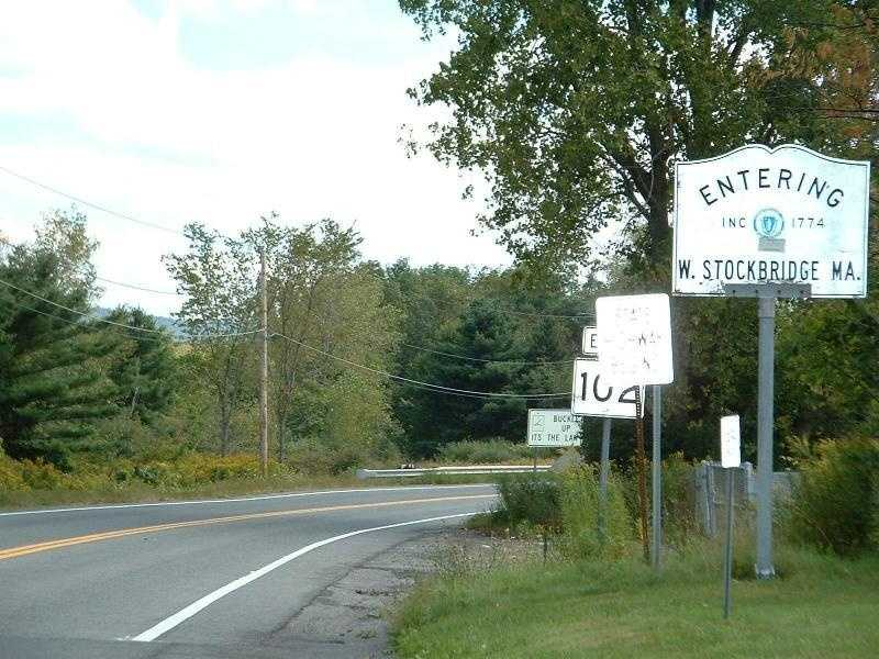 West Stockbridge -- Population 1,288