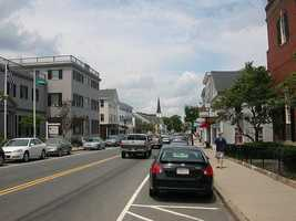 #41 The White Island Shores section of Plymouth with an average income of $87,625.