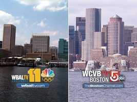 Sister television stations WCVB in Boston and WBAL in Baltimore team up to compare two beloved cities as the Patriots and the Ravens meet in the AFC Championship game.