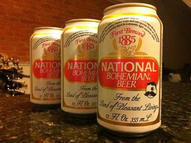 """Since 1885, Baltimoreans have treasured National Bohemian as the city's signature beer. """"Get me a Natty Boh, hon."""""""