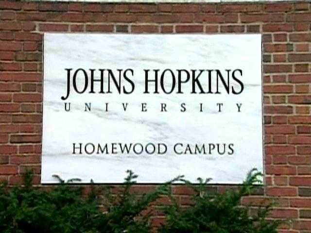 Ironically, Johns Hopkins University's School of Medicine is tied with Harvard for No. 1 in internal medicine.