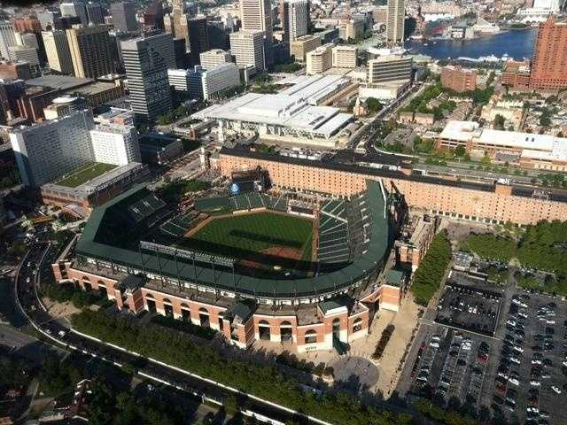 """Oriole Park at Camden Yards -- the ballpark that started the """"retro"""" design of baseball stadiums nationwide -- opened in 1992."""