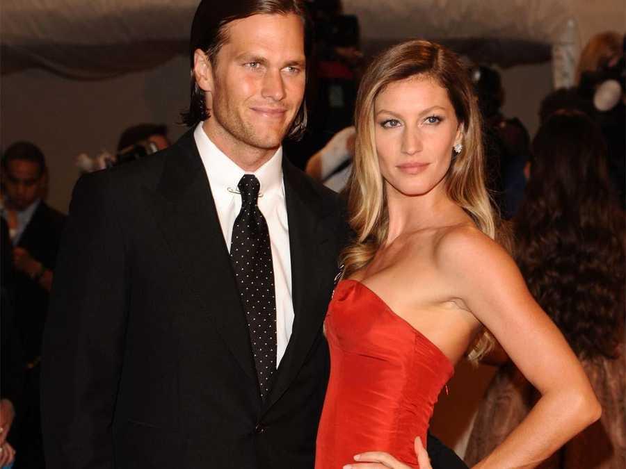 Finally, our quarterback Tom Brady has a supermodel wife, Gisele Bundchen.