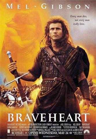 "Tebow's favorite movie is ""Braveheart."""