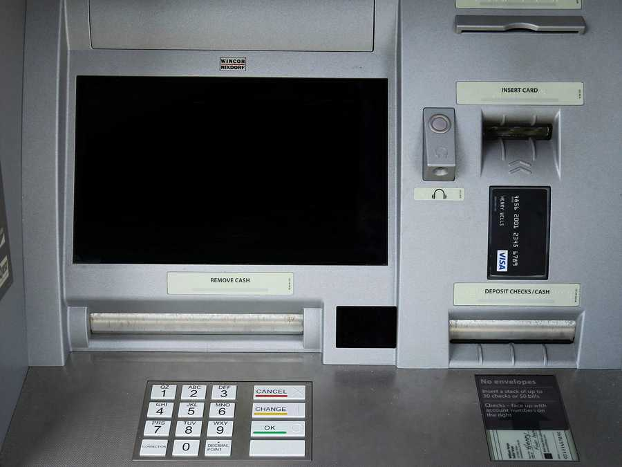 You can imagine how many people touch the ATM buttons during the course of the day.