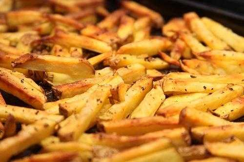 We know that French fries have lots of fat.