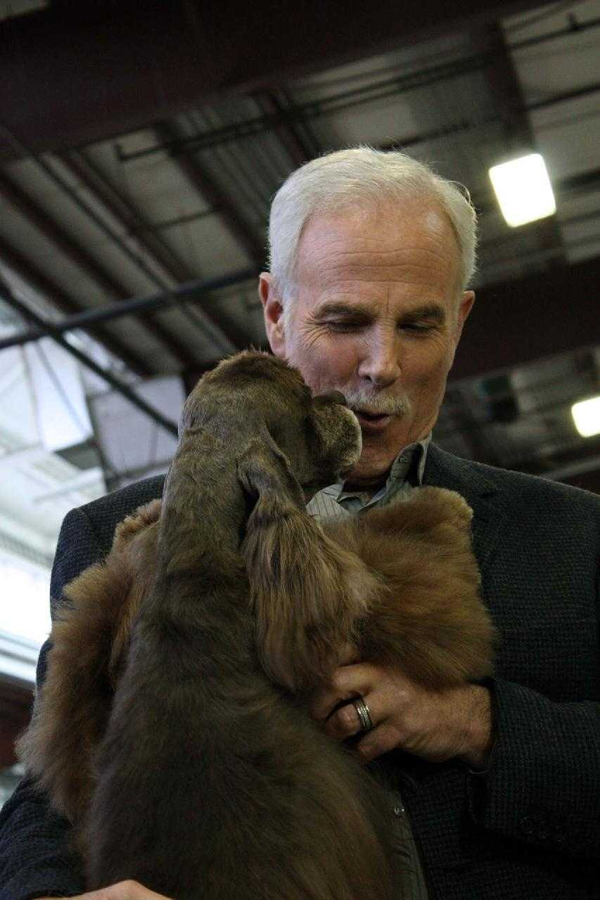 Randy with Rudy