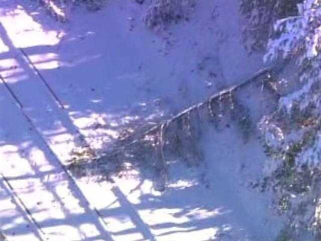 Some places in the western part of the state received as much as 29 inches of snow.