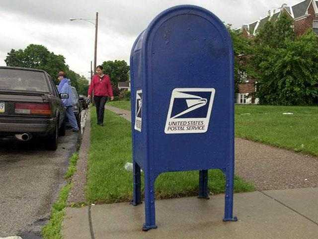 But rather the corner mailboxes that so many people use.