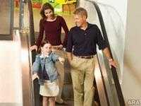 The escalators were highly contaminated with germs most associated with a high risk of illness.