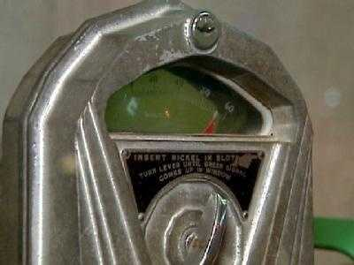 People leave lots of germs when they put coins in the meter.