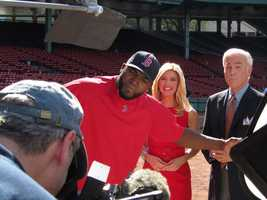 David Ortiz, Bianca de la Garza and Randy Price