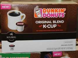 Dunkin' Donuts says it is America's largest retailer of coffee-by-the-cup, serving nearly 1 billion cups of brewed coffee each year.
