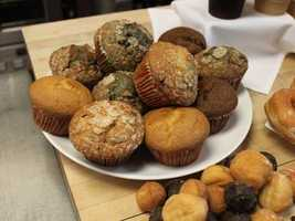 There are six different kinds of muffins, as well as the English muffin ...