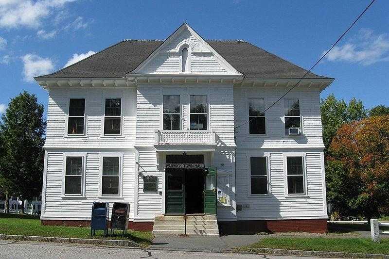 Warwick -- population 774 -- is in Franklin County. Warwick was first settled in 1739.