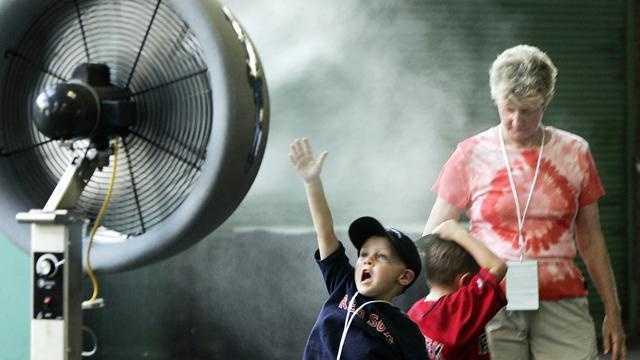 Boston Heat, kids keep cool - 28607776