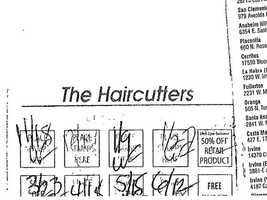 This is a loyalty card from Haircutters entitling Greig to discounts.