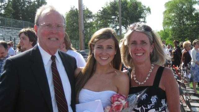 Lauren Astley With Parents - 28478050